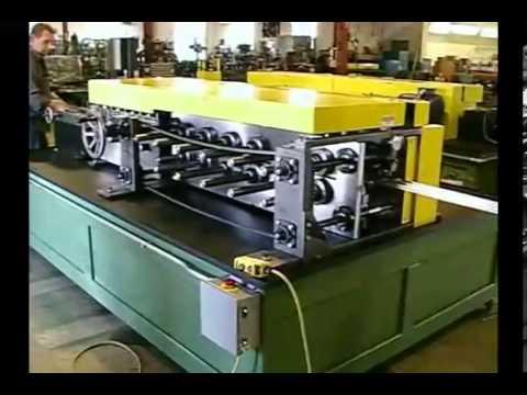Variable Width Damper Blade Rollformer 2 24 11 wmv