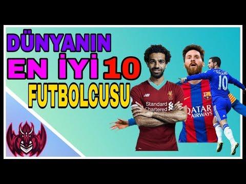 DÜNYA'NIN EN İYİ 10 FUTBOLCUSU-2019 !