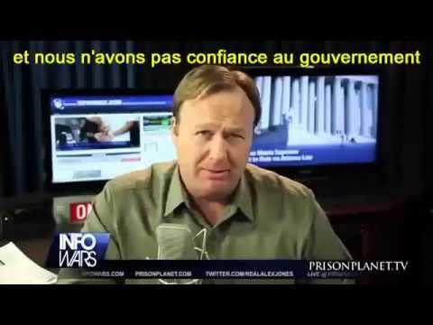 Alex Jones : La Loi d'Enfermement pour Tous NDAA (Jan 2012) VOSTFRJ
