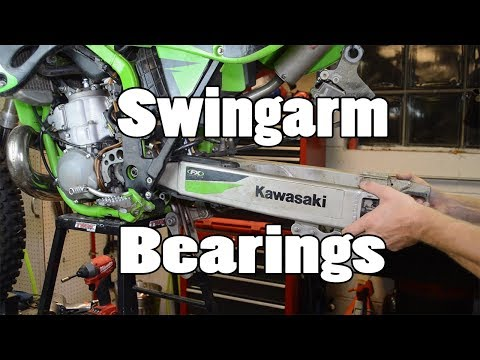 How-To: Inspect and Replace Swingarm Bearings