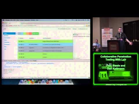 BSidesLV 2013   1 1 7 Collaborative Penetration Testing With Lair   Tom Steele and Dan Kottmann