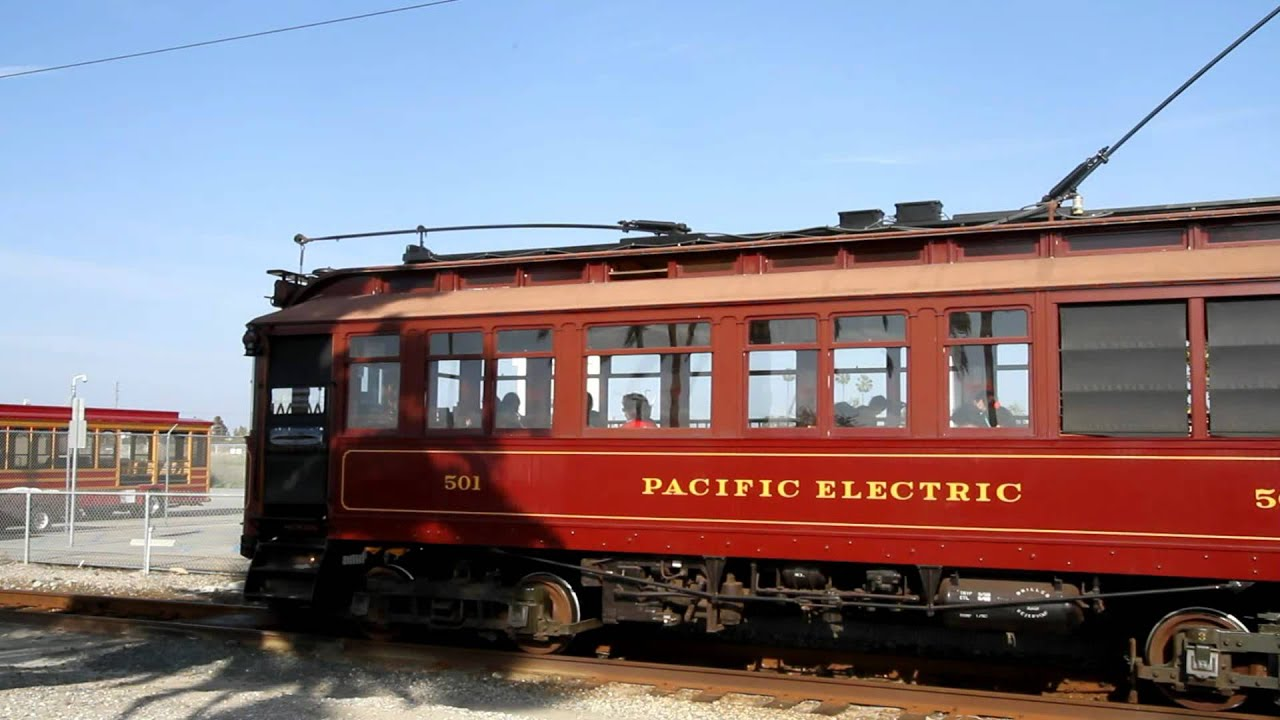 southern california pacific electric red car 500 series train port of los angeles youtube. Black Bedroom Furniture Sets. Home Design Ideas