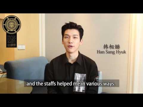 Hyuk supports Malaysia International Film Festival and Malaysia Golden Global Awards