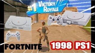 Fortnite sur PS1 en 1998 playstation 1