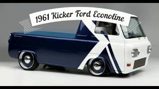 61 Ford Econoline pickup