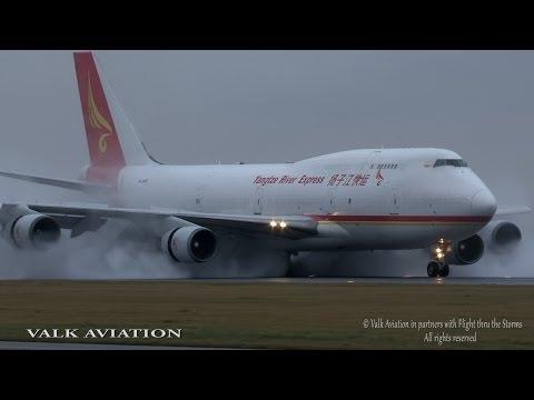 Yangtze River Express B747F @ Full Thrust Reverse