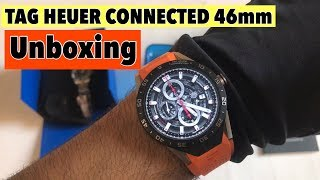 Unboxing: TAG HEUER CONNECTED 46MM