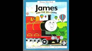 Thomas Mini Book & Tape: James and The Balloons