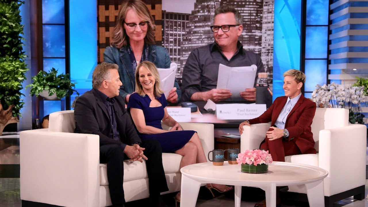 Download Ellen Had to Be Reminded She Was in 'Mad About You' with Helen Hunt & Paul Reiser