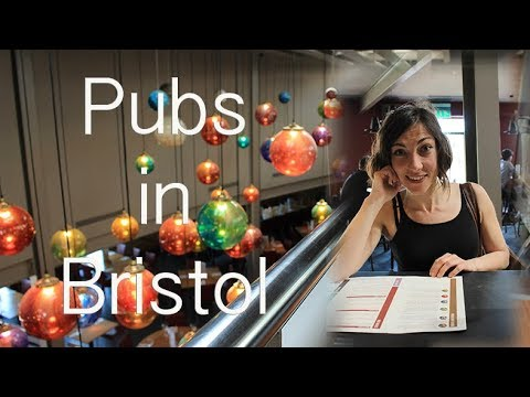 Bristol Pubs - Con Víctor en Bristol