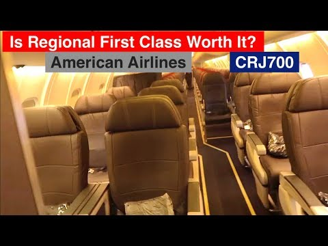 TRIP REPORT / Short Haul First Class / CRJ700 / Review With American Airlines