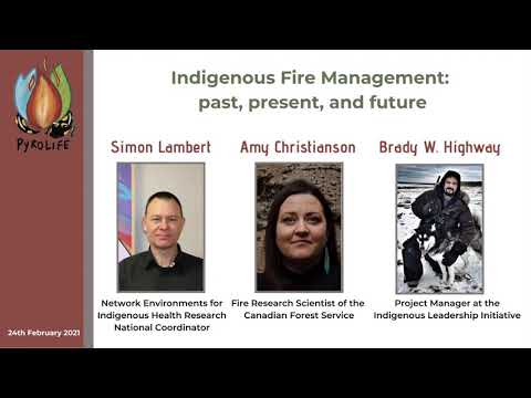 Indigenous Fire Management: past, present, and future