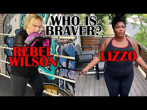 Lizzo or Rebel Wilson Who is a Braver? Working Out For Weight Loss and Health
