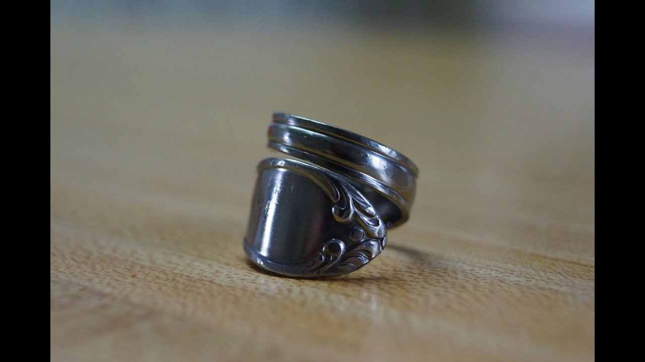 Make Ring From Coin With Spoon