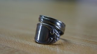 Repeat youtube video How to: Spiral Spoon Ring