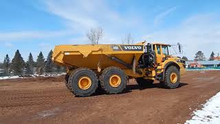 Video still for Nuss Volvo A45G Articluated Hauler at the New Iron Expo