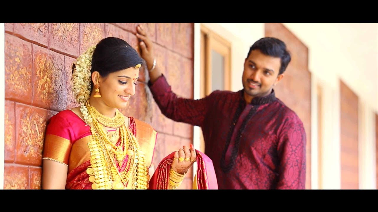 KERALA HINDU WEDDING HIGHLIGHT 2015 SAJITH DHANYA
