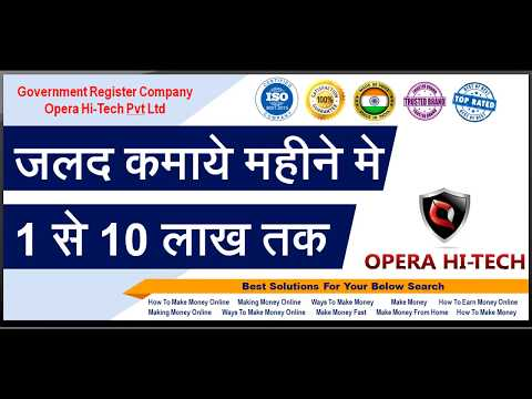 Learn  | How To Make Money Online From Home  | Easy Ways To Earn Money Online [Hindi]