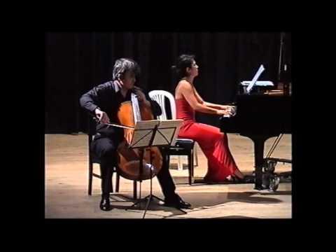 H.KHOURY- SONATA FOR CELLO & PIANO N.2-NIKOLAUS TRIEB ( CELLO),FUMIKO SHIRAGA (PIANO