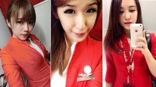 10 Pramugari Air Asia Paling Cantik dan Hot