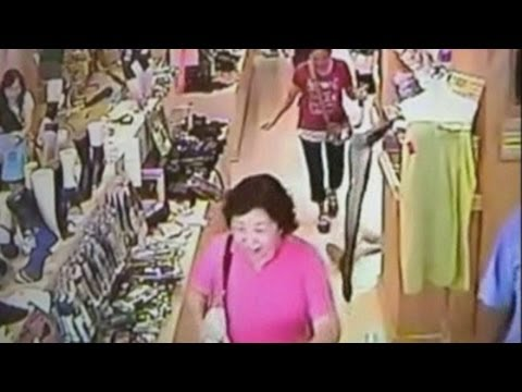 Taiwan earthquake: Moment quake strikes caught on CCTV