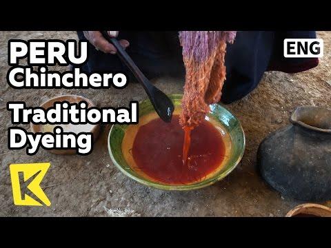 【K】Peru Travel-Chinchero[페루 여행-친체로]전통 염색 방법/Traditional/Dyeing/Cactus/Worm/Inca