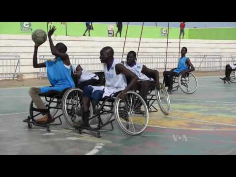 South Sudan War Vets Find New Life in Wheelchair Basketball
