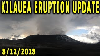 NEWS UPDATE Hawaii Kilauea Volcano Eruption 8/12/2018