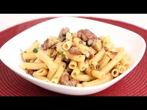 Pasta With Sausage & Artichokes Recipe - Laura Vitale - Laura In The Kitchen Episode 890
