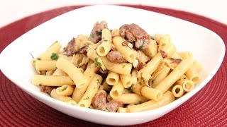 Pasta With Sausage & Artichokes Recipe - Laura Vitale - Laura In The Kitchen Episode 890