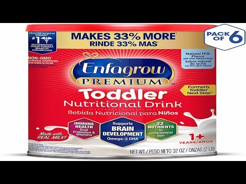 A Toddler's Meal of Milk