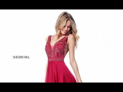 a186c317479 Sherri Hill 51874 Prom Dress - YouTube