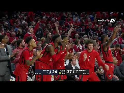 Men's Basketball Highlights: Cincinnati 62, Xavier 47 (Courtesy ESPN)