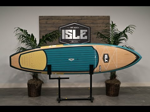 The 2019 ISLE Frontier Epoxy Stand Up Paddle Board