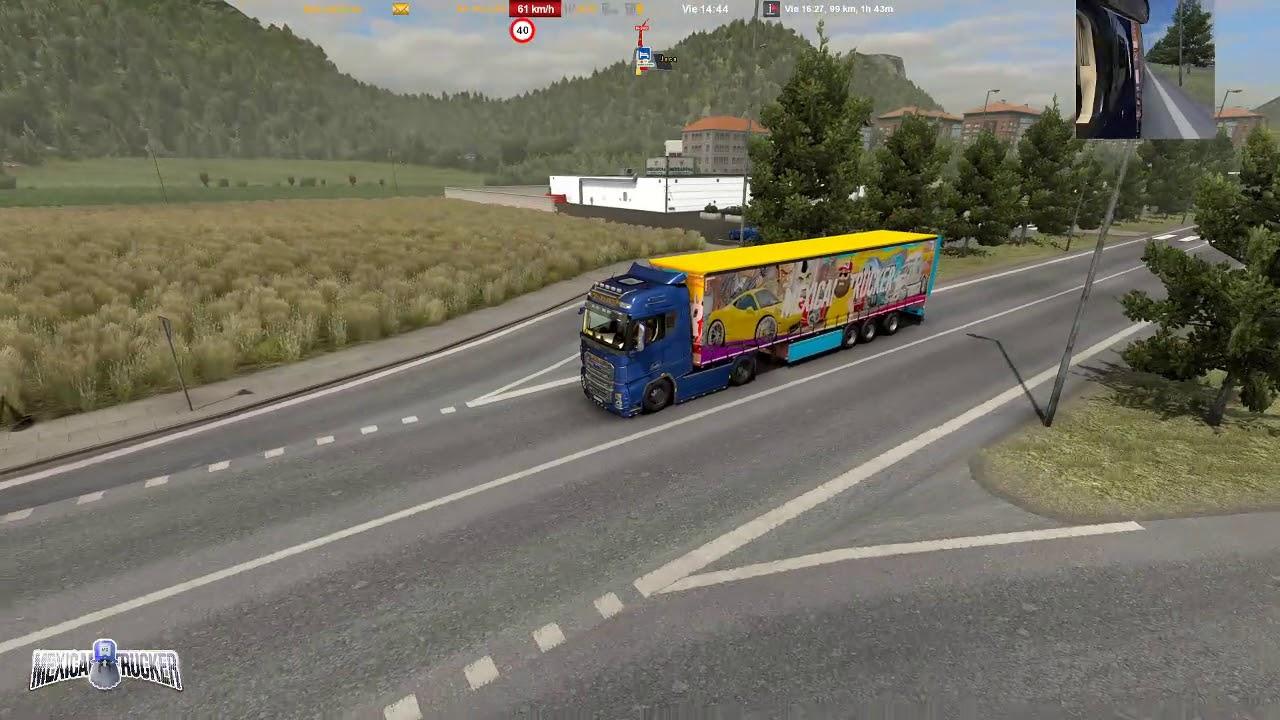 ETS2 | Ruta Peligrosa en España | Huesca - Pamplona