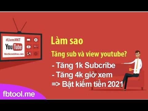 hack lượt view video trên facebook - 13 GIỚI THIỆU TOOL TĂNG LƯỢT ĐĂNG KÝ KÊNH YOUTUEB, 4K GIỜ XEM.  LIKE, VIEW YOUTUBE MỚI NHẤT 2021