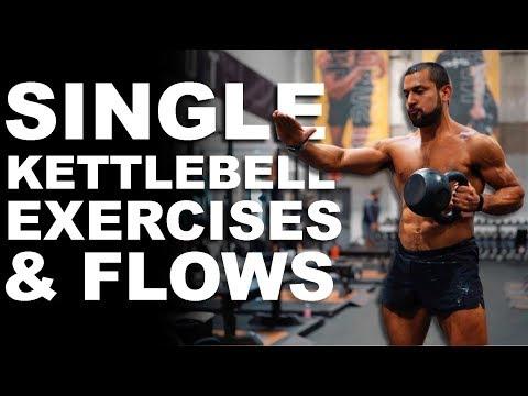 Kettlebell Single Exercises & Flows Workout with Eric Leija