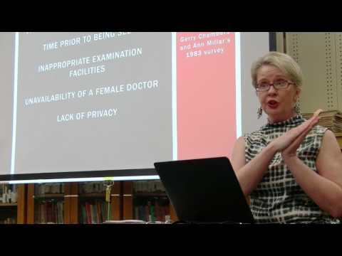 "Professor Joanna Bourke: ""Sexual Violence and Medicine"""
