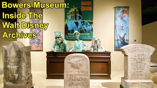 """""""Inside The Walt Disney Archives"""" at the Bowers Museum in CA - Mickey & Minnie, Tour & Interviews"""