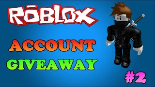 Roblox Free Account Giveaway!