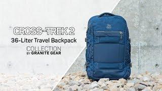 36 Liter Travel Backpack | Cross-Trek 2 Collection