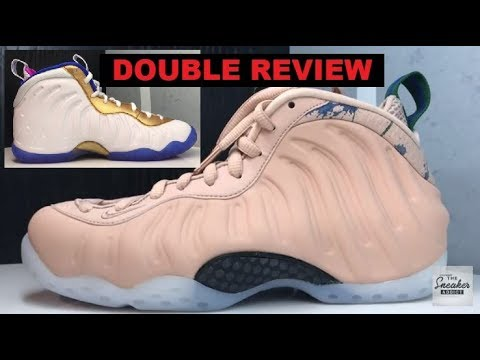 c56f1499bf318 Nike Foamposite One Air Particle Beige Aloe Verde Sneaker Review   Bonus  Shoe Review