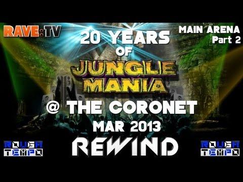 20 YEARS OF JUNGLE MANIA (Part2) - RAVE:TV @Coronet - London - April 2013