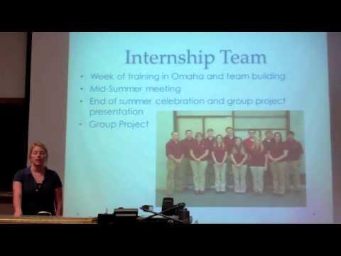 K-State Ag Student Summer Internship Presentation - YouTube