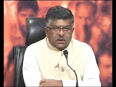 Even Congress is disturbed over Rahul Gandhi's statement: Ravi Shankar Prasad