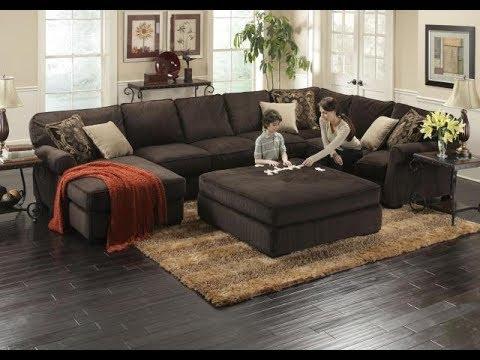 Deep Seated Sectional Sofa - YouTube