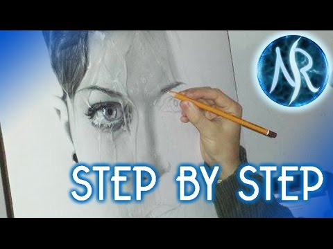 """Step by Step"", making of hyper-realistic drawings – HyperRealism, Narciso River"