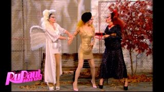"""Poo"" with Pearl, Violet Chachki and Miss Fame - RuPaul"
