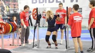 2 Чемпионат Приволжского Федерального округа Пауэрлифтинг 2015 присед 75кг