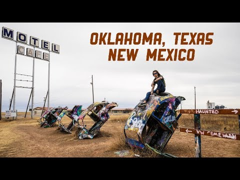 Amarillo, Texas - Samochodem przez USA #1